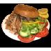 1. Kipshoarma kebab van het spit